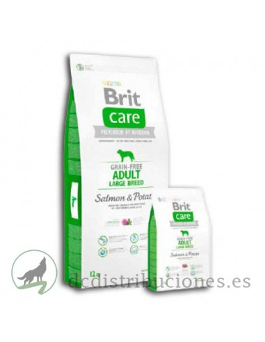 Brit Care Adulto large Salmon Patata...