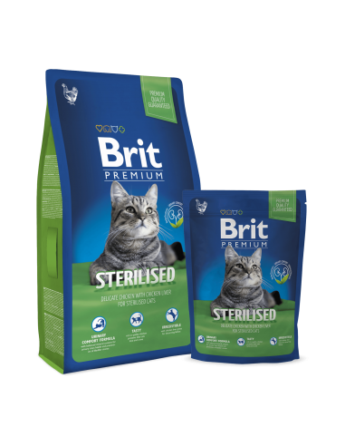 Brit Premium Cat Sterilised pienso...