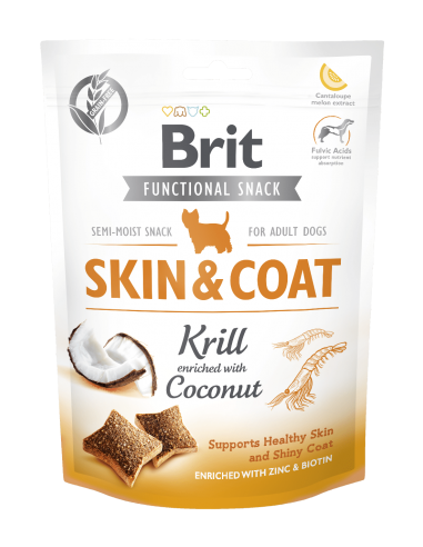 Brit Care Snack funcional Skin & Coat