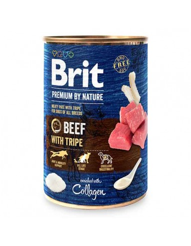 Brit Premium By Nature lata Ternera