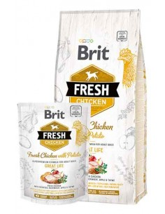 Brit Fresh Adulto Medium Pollo