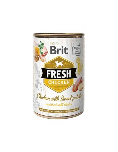 Brit Fresh Lata Pollo y Batata