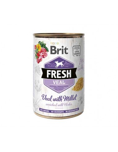Brit Fresh Lata Ternera y Mijo